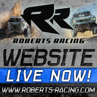 Roberts Racing Website, Bink Designs